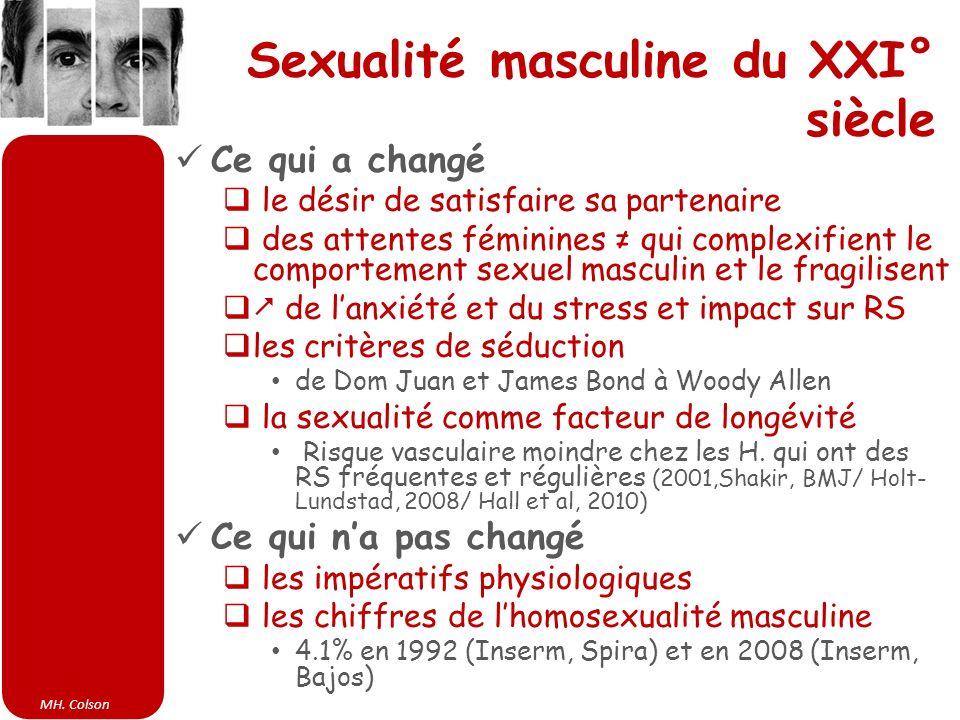 Sexualité masculine du XXI° siècle