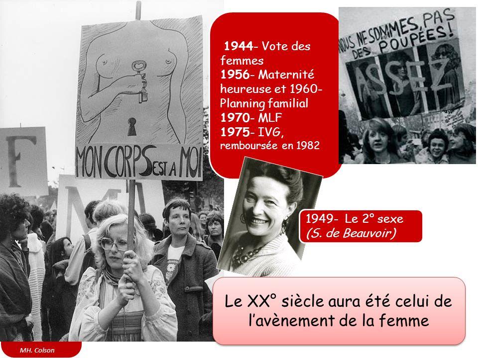Le XX° siècle aura été celui de l'avènement de la femme