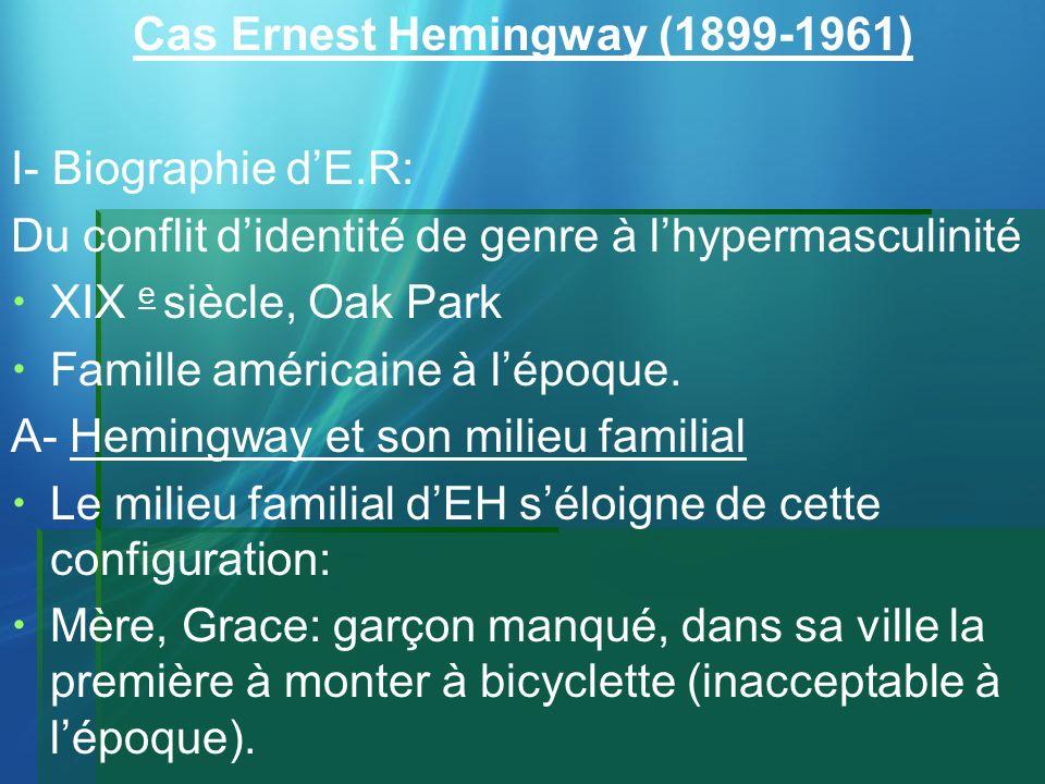 Cas Ernest Hemingway (1899-1961)