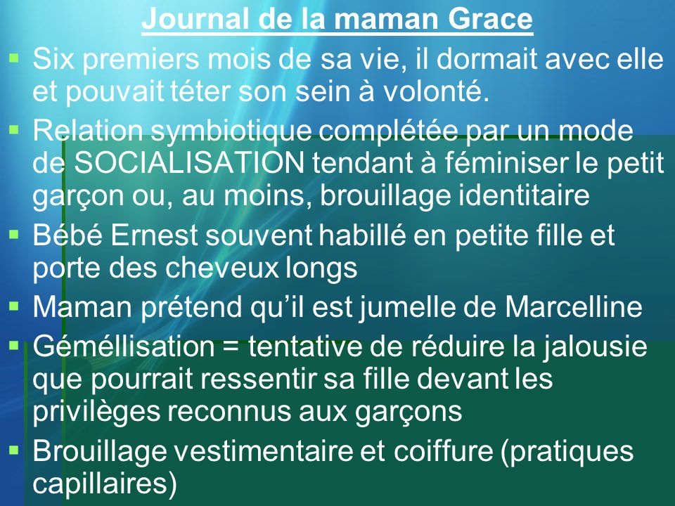 Journal de la maman Grace