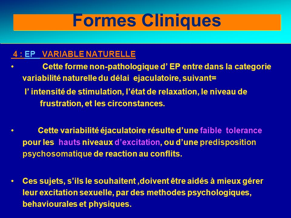 Formes Cliniques Clinical forms (II)