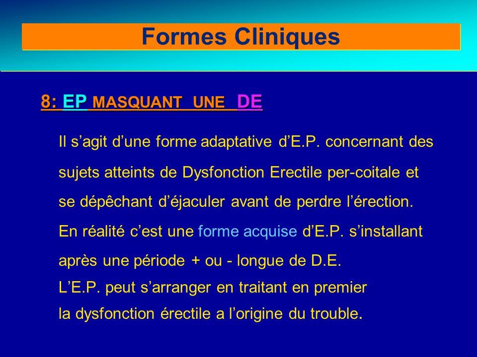 Formes Cliniques 8: EP MASQUANT UNE DE