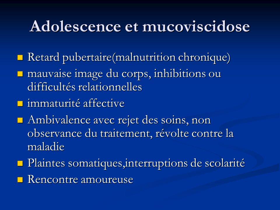 Adolescence et mucoviscidose