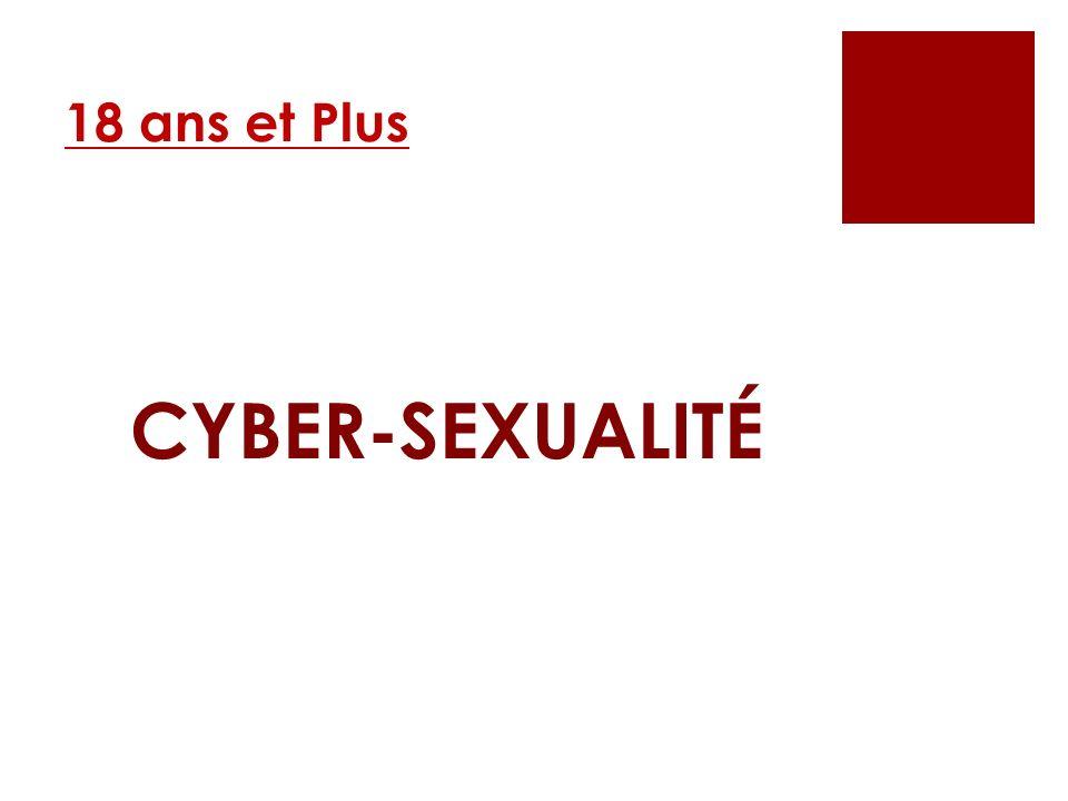 18 ans et Plus CYBER-SEXUALITÉ