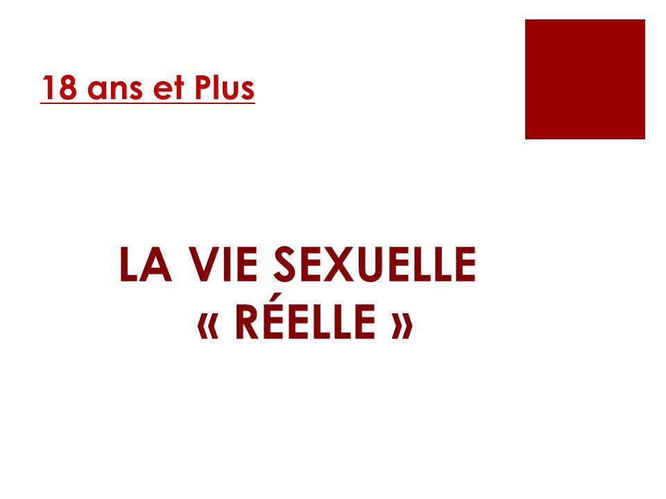 LA VIE SEXUELLE « RÉELLE »
