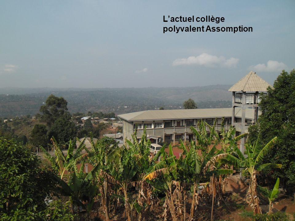 L'actuel collège polyvalent Assomption