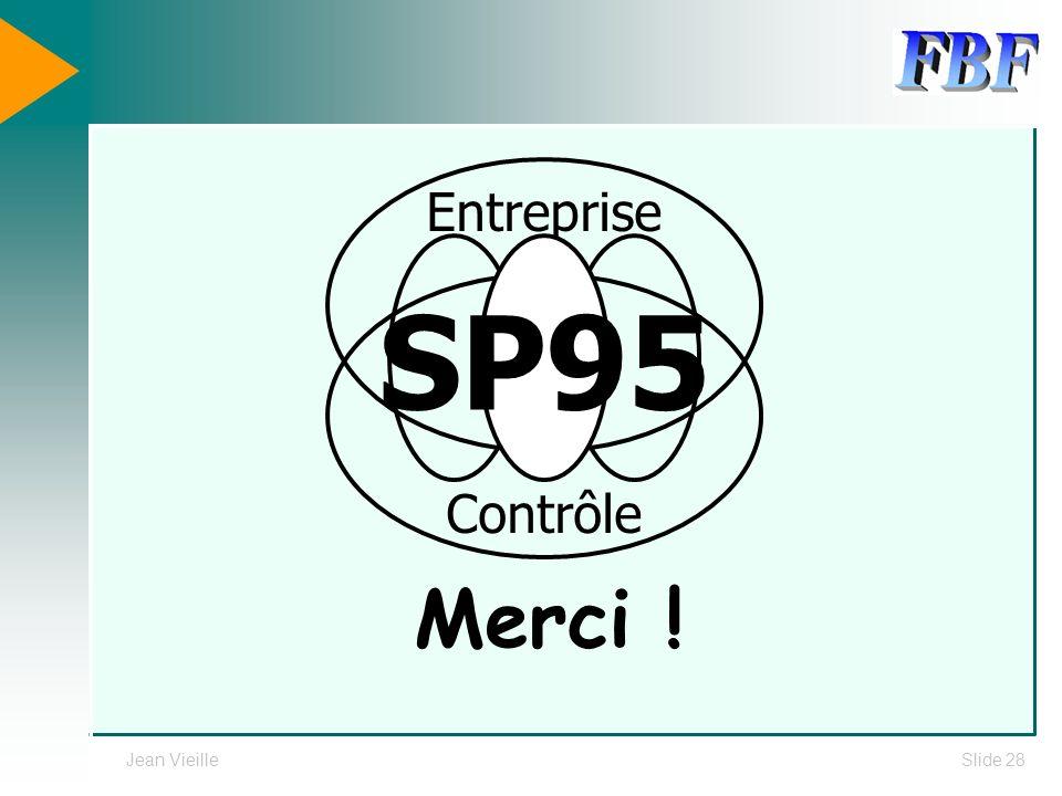 Entreprise Contrôle SP95 Merci ! Jean Vieille
