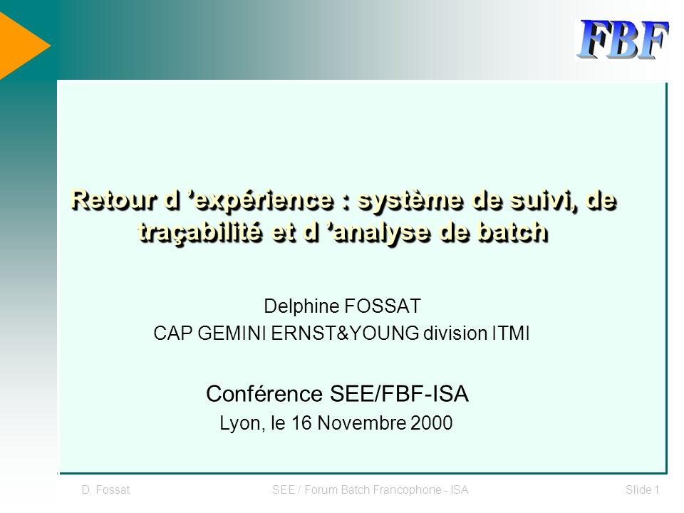 Delphine FOSSAT CAP GEMINI ERNST&YOUNG division ITMI