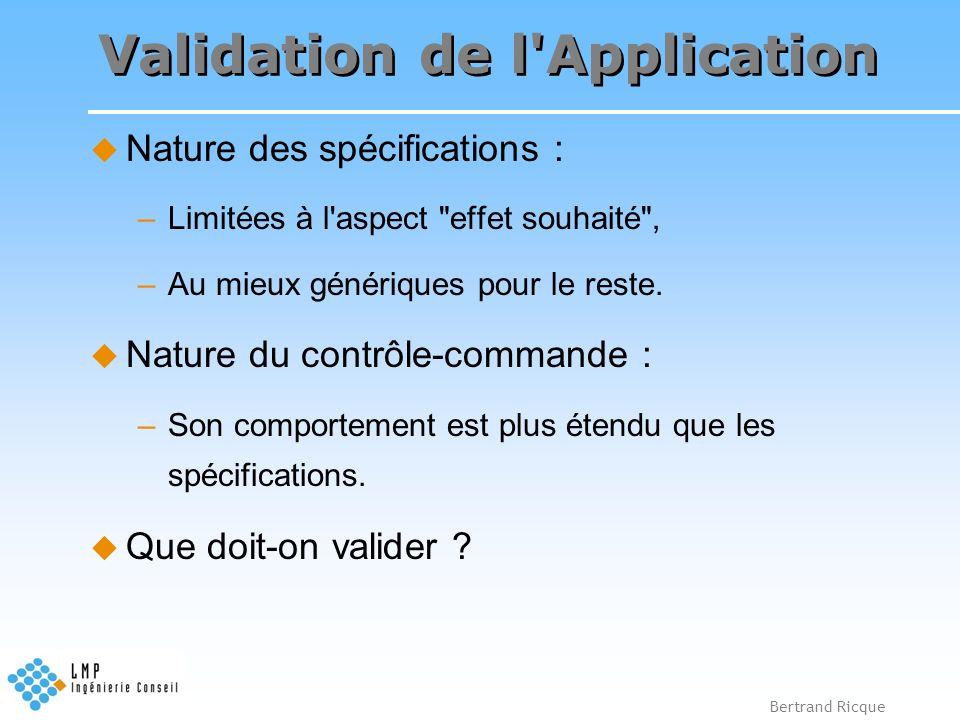 Validation de l Application