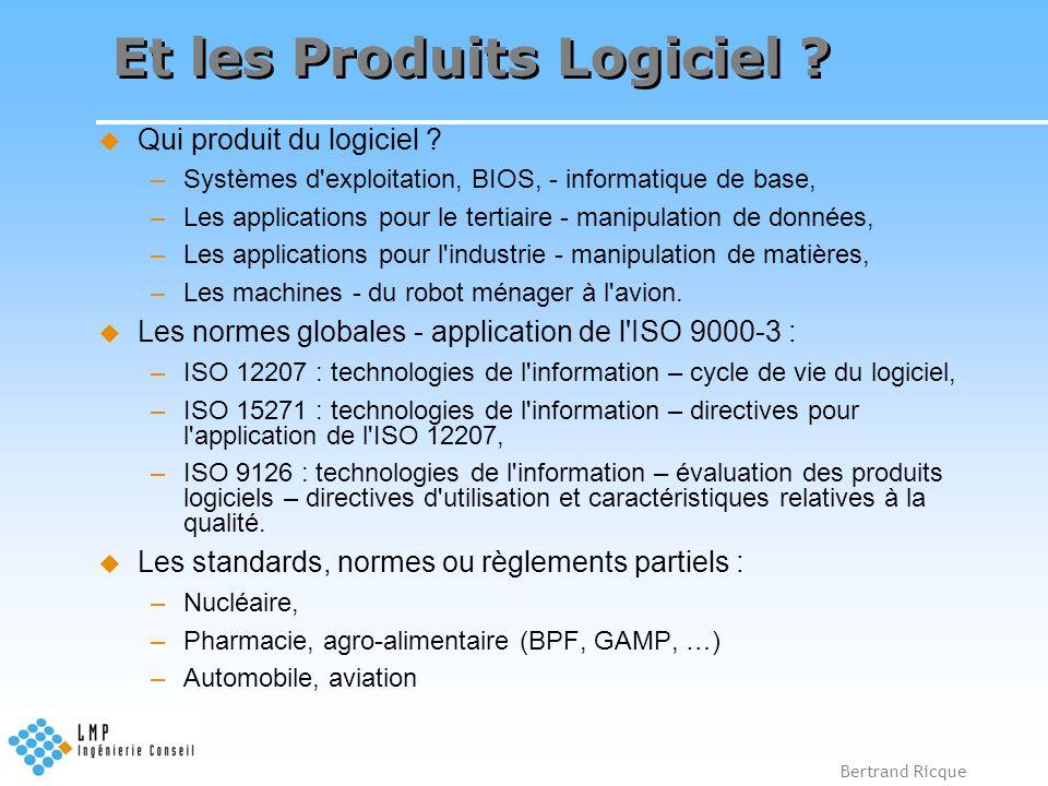 Et les Produits Logiciel