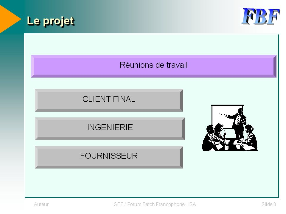 SEE / Forum Batch Francophone - ISA