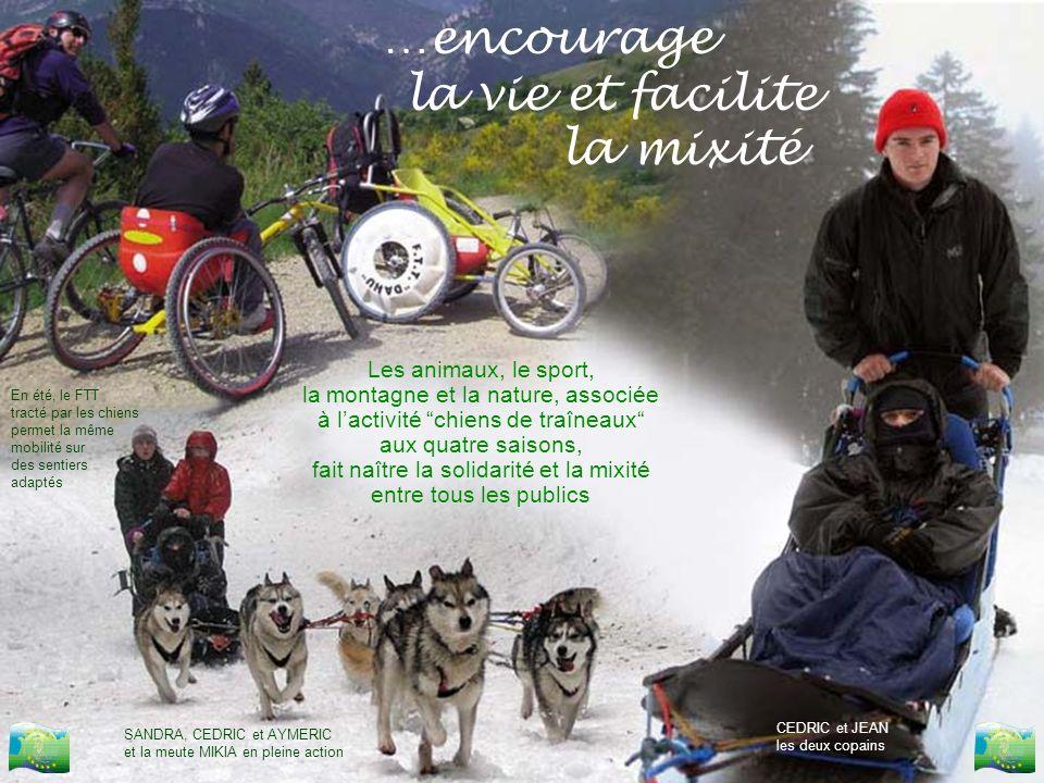 …encourage la vie et facilite la mixité Les animaux, le sport,