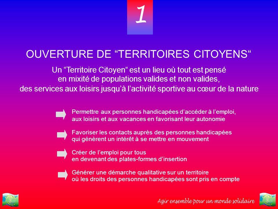 1 OUVERTURE DE TERRITOIRES CITOYENS