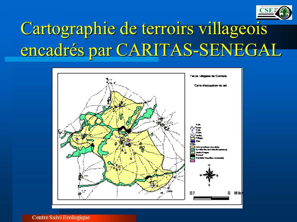 Cartographie de terroirs villageois encadrés par CARITAS-SENEGAL