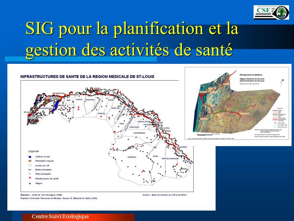 SIG pour la planification et la gestion des activités de santé