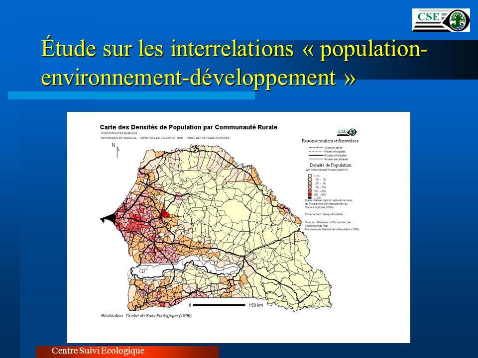 Étude sur les interrelations « population-environnement-développement »