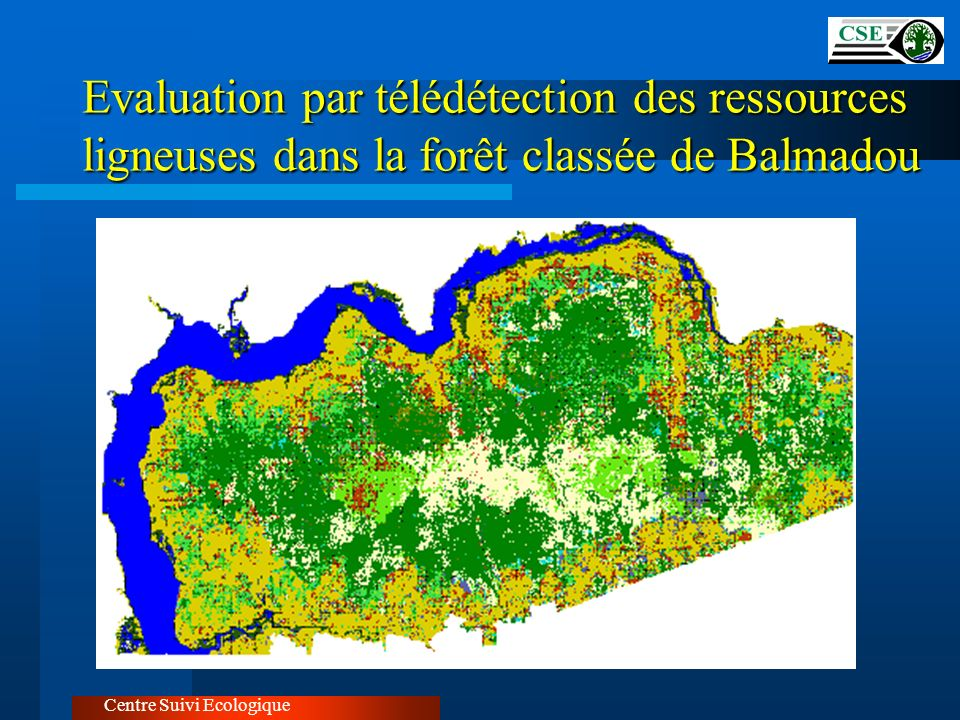 Evaluation par télédétection des ressources ligneuses dans la forêt classée de Balmadou