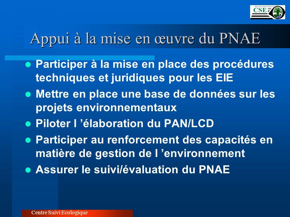 Appui à la mise en œuvre du PNAE