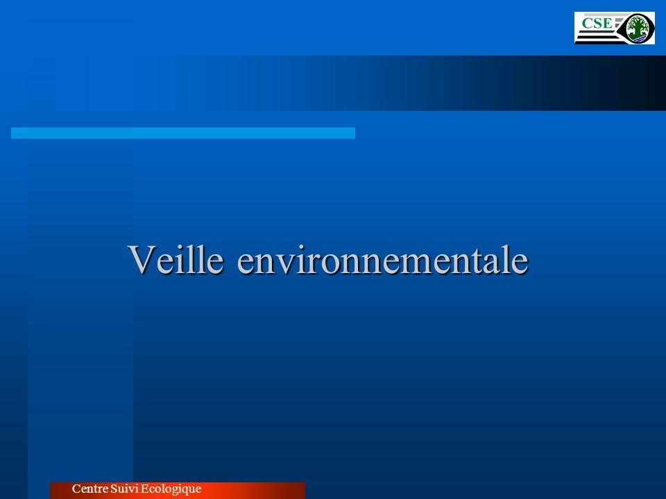 Veille environnementale