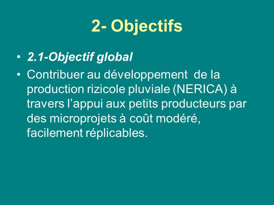2- Objectifs 2.1-Objectif global