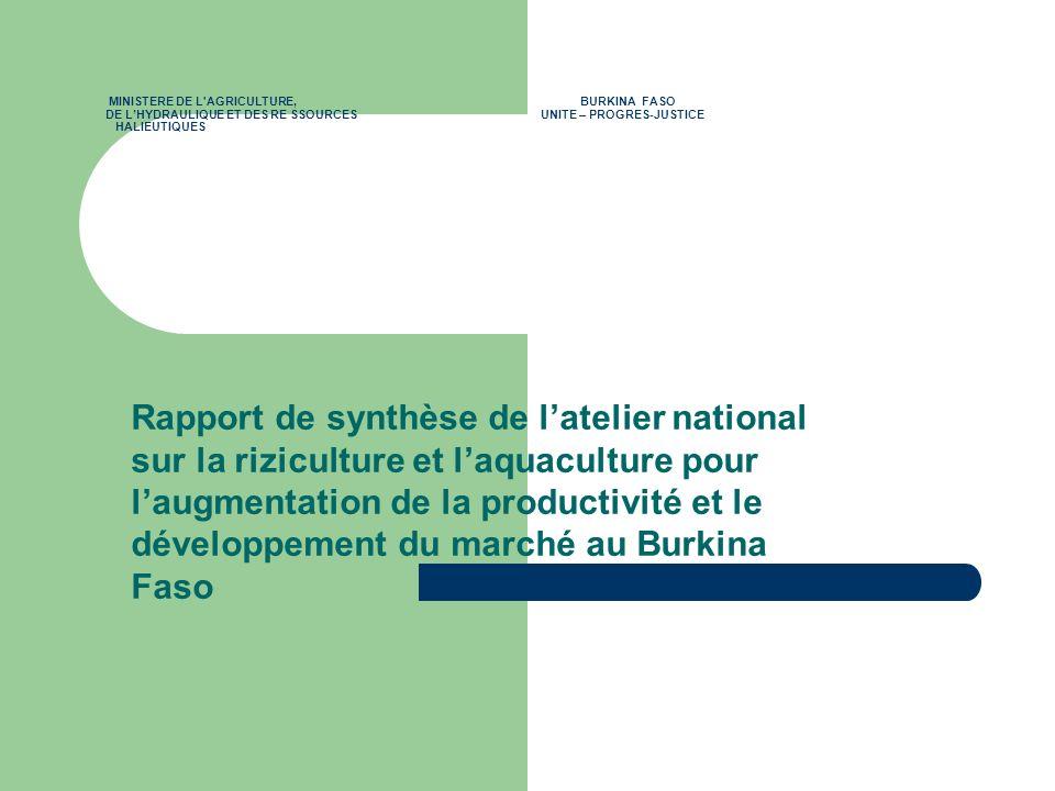 MINISTERE DE L AGRICULTURE,
