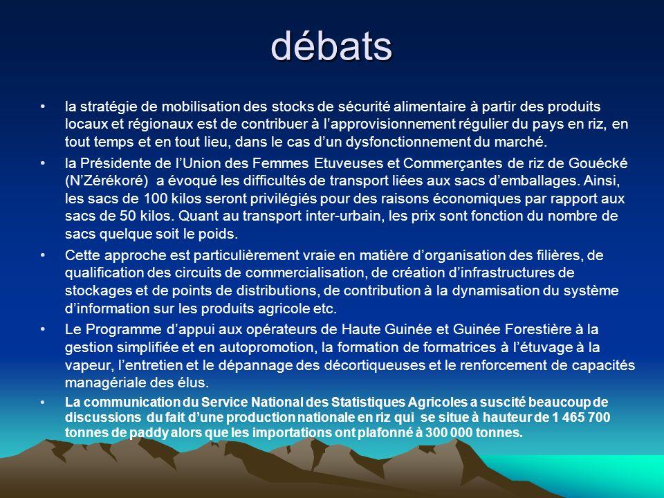 débats