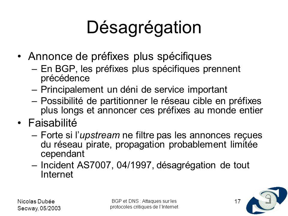 BGP et DNS : Attaques sur les protocoles critiques de l'Internet