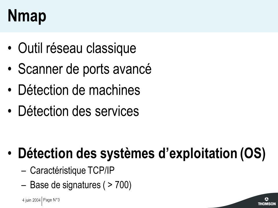 Nmap Outil réseau classique Scanner de ports avancé