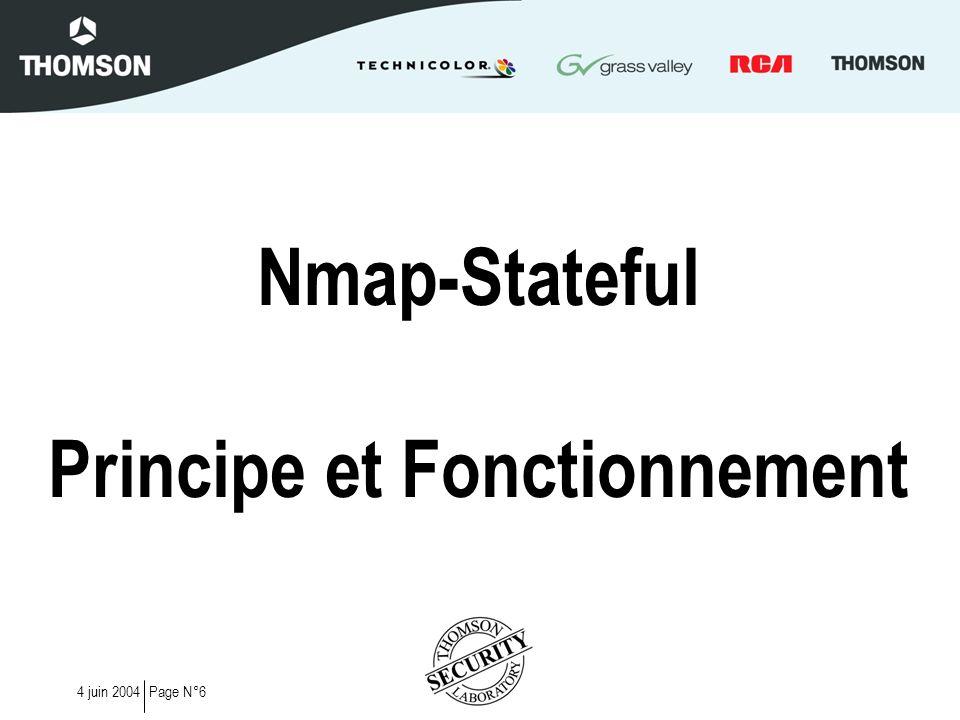 Nmap-Stateful Principe et Fonctionnement