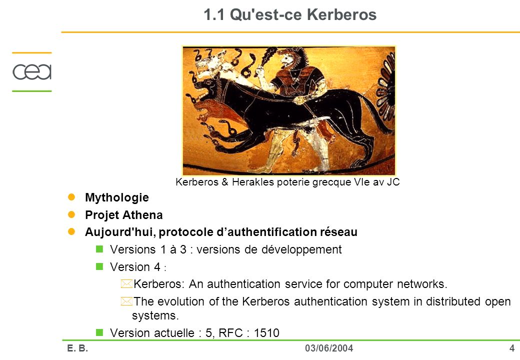 Kerberos & Herakles poterie grecque VIe av JC