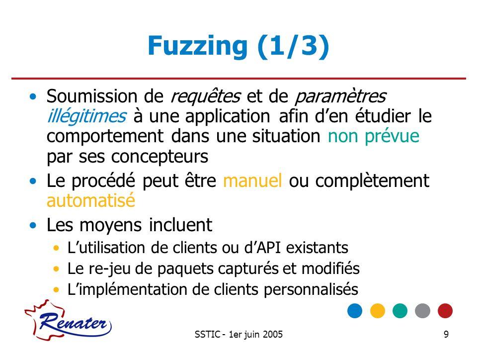 Fuzzing (1/3)