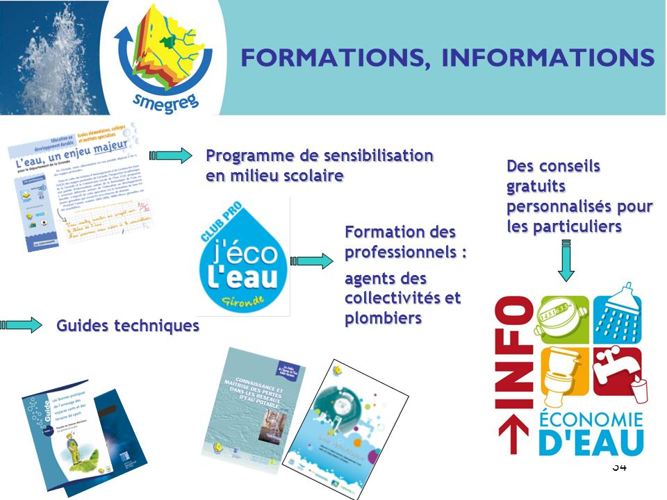 FORMATIONS, INFORMATIONS