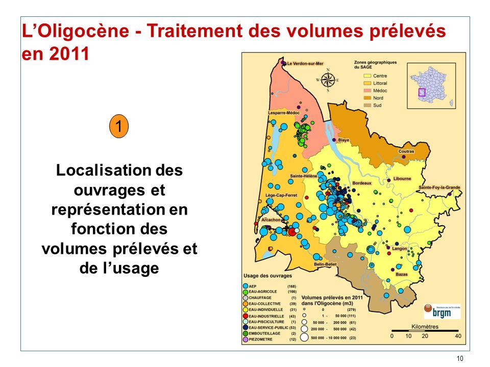 L'Oligocène - Traitement des volumes prélevés en 2011