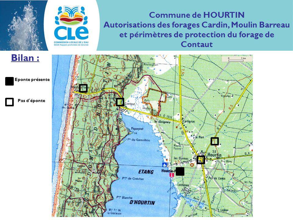 Bilan : Commune de HOURTIN