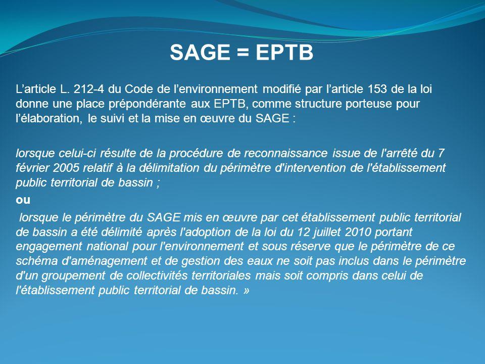 SAGE = EPTB