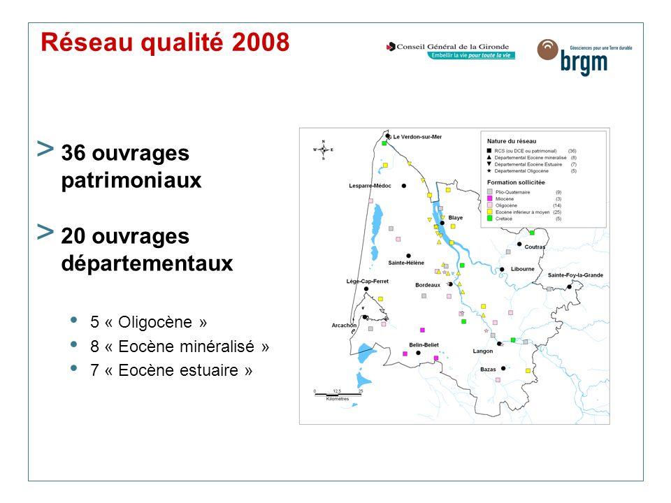 Réseau qualité 2008 36 ouvrages patrimoniaux