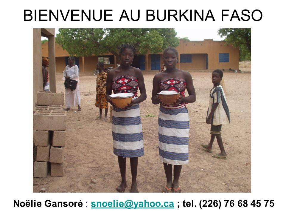 BIENVENUE AU BURKINA FASO