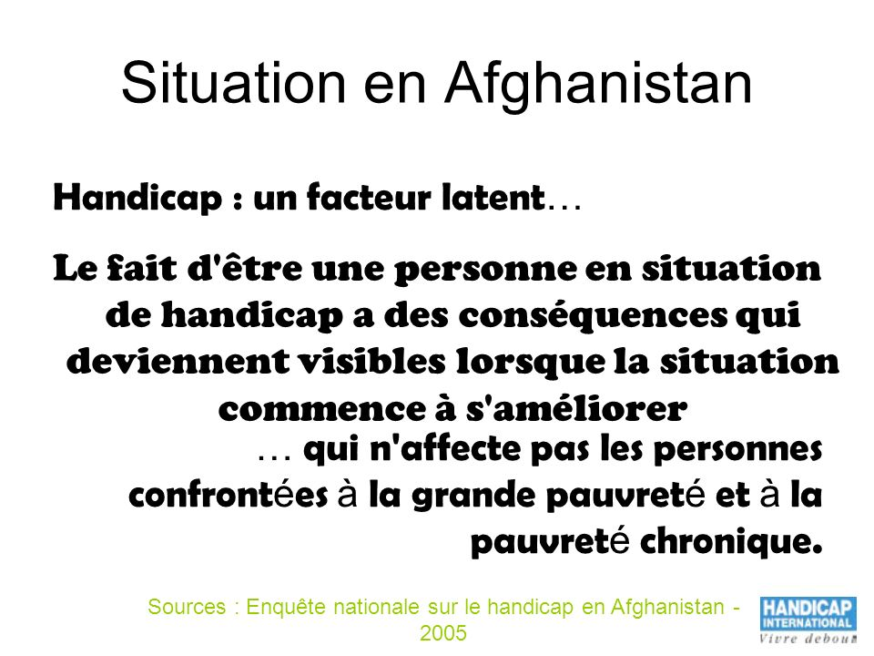 Situation en Afghanistan
