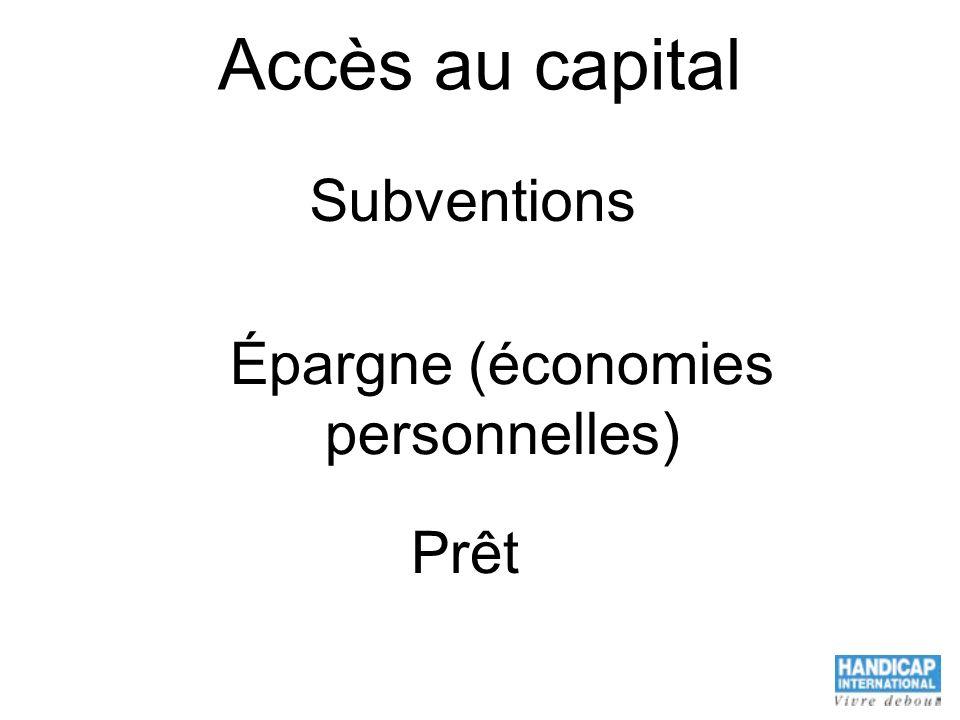 Épargne (économies personnelles)