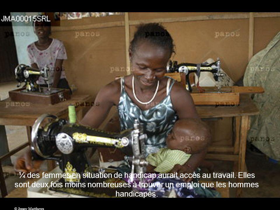 ¼ des femmes en situation de handicap aurait accès au travail