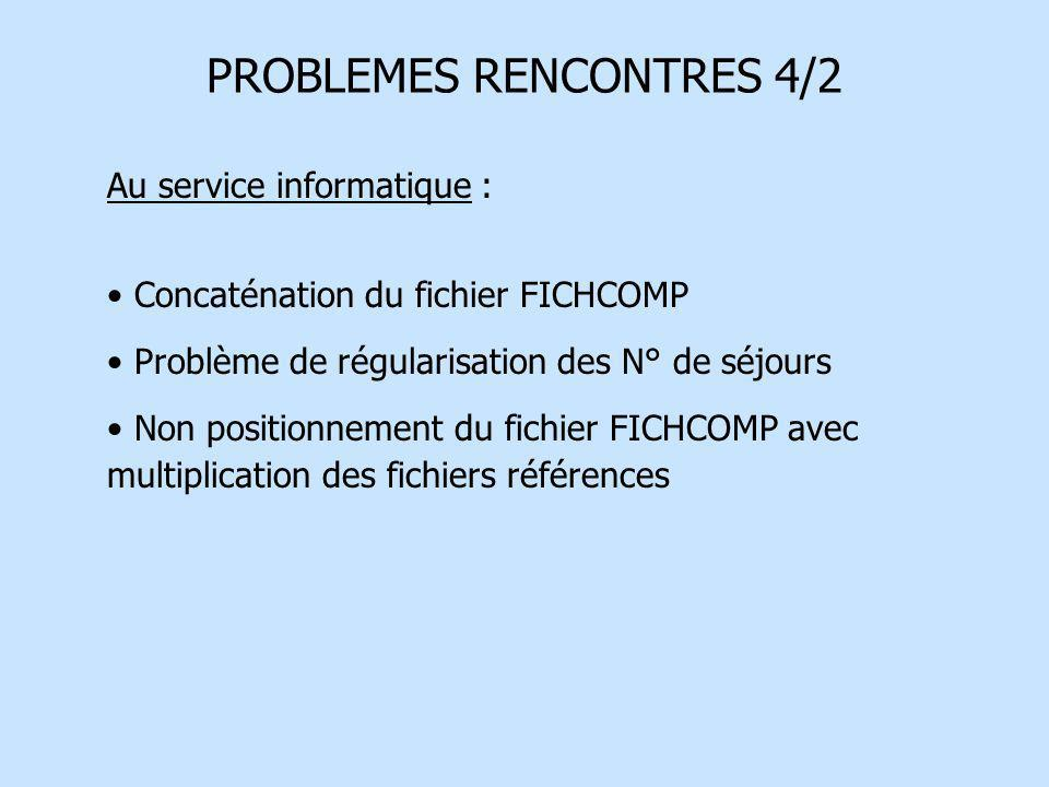 PROBLEMES RENCONTRES 4/2