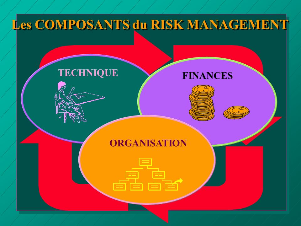Les COMPOSANTS du RISK MANAGEMENT