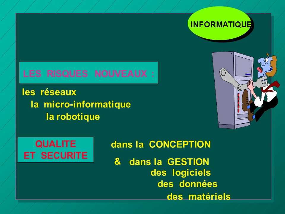 la micro-informatique la robotique