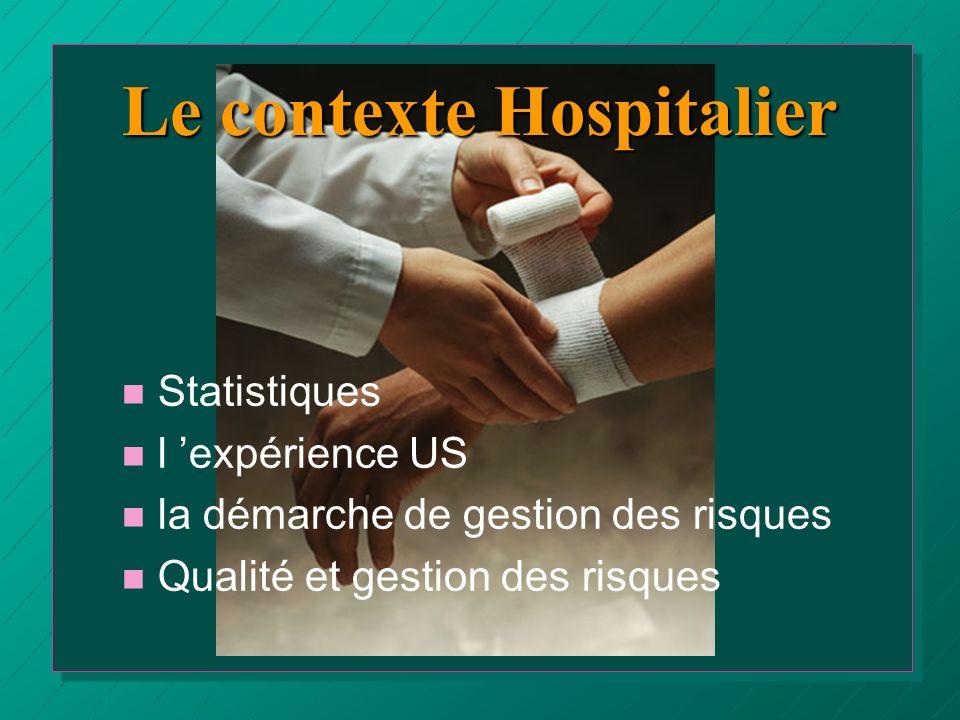 Le contexte Hospitalier