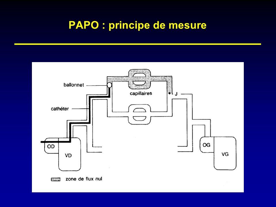 PAPO : principe de mesure