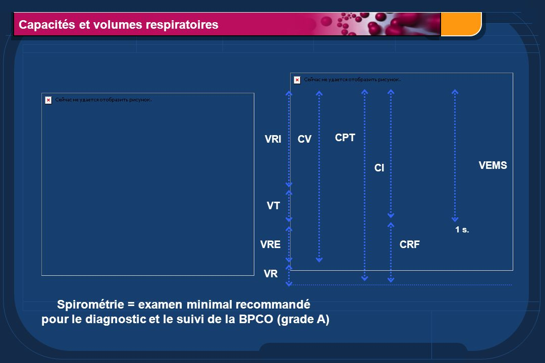 Capacités et volumes respiratoires