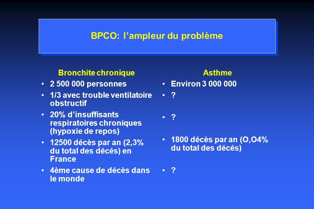 BPCO: l'ampleur du problème