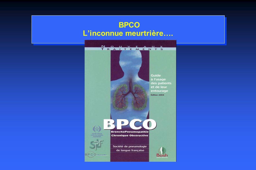 BPCO L'inconnue meurtrière….