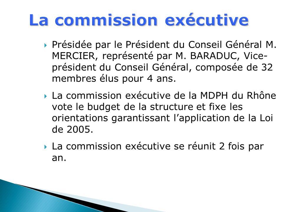 La commission exécutive