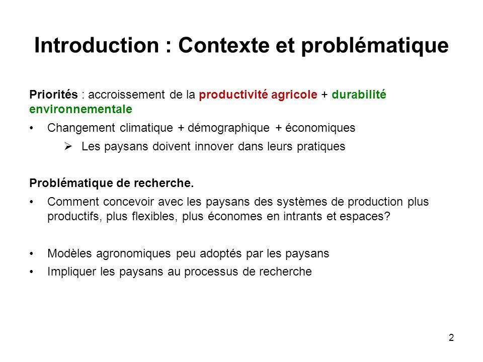 Introduction : Contexte et problématique